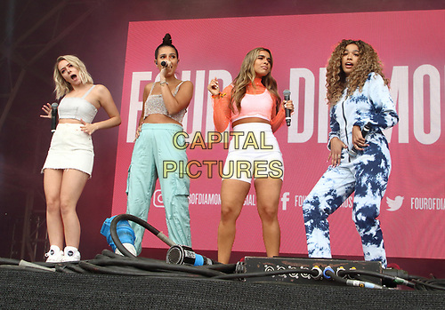 Four of Diamonds perform on Day Two of British Summertime at Hyde Park, London on July 6th 2019<br /> CAP/ROS<br /> ©ROS/Capital Pictures