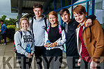 Mounthawk Leaving Cert students after sitting the French exam on Wednesday, from left: Lauren Barrett, Phillip McCarthy, Eleanor Feely,  Jack Lopez and Jordan Tearle.