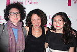 "Gracie Devito, Rhea Perlman, Lucy Devito.attending the Opening Night After Party at Marseille Restaurant for ""Love, Loss and What I Wore""  as OffBroadway's Biggest Hit welcomes it's newest cast members..November 18, 2009."