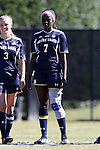 23 October 2016: Notre Dame's Karin Muya (ENG). The Wake Forest University Demon Deacons hosted the University of Notre Dame Fighting Irish at Spry Stadium in Winston-Salem, North Carolina in a 2016 NCAA Division I Women's Soccer match. Notre Dame won the game 1-0.
