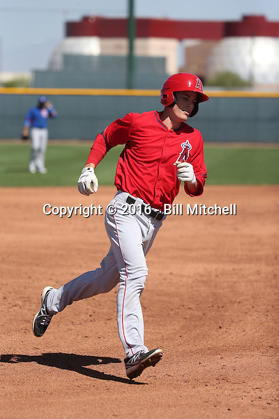 Hutton Moyer - Los Angeles Angels 2016 spring training (Bill Mitchell)