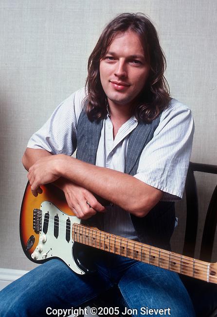 David Gilmour, June 1978