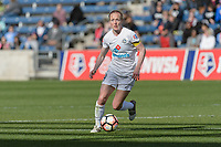 Bridgeview, IL - Saturday April 22, 2017: Becky Sauerbrunn during a regular season National Women's Soccer League (NWSL) match between the Chicago Red Stars and FC Kansas City at Toyota Park.