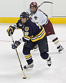 Brent Gough, Stephen Gionta - Boston College defeated Merrimack College 3-0 with Tim Filangieri's first two collegiate goals on November 26, 2005 at Kelley Rink/Conte Forum in Chestnut Hill, MA.