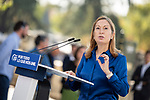 Ana Pastor  in the presentation of the Partido Popular program<br />  October 13, 2019. <br /> (ALTERPHOTOS/David Jar)