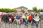 Honda 50 bikers who participated in the rally in aid of St John of Gods in Castleisland on Sunday morning