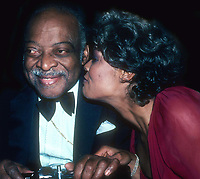 Count Basie and Dionne Warwick 1982<br /> Photo By Adam Scull/PHOTOlink.net /MediaPunch