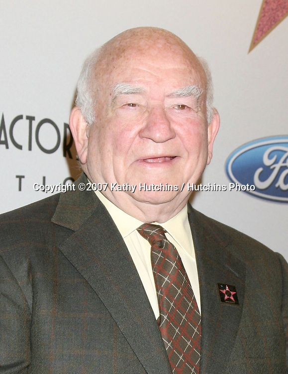 Ed Asner .Screen Actors Guild Award of Excellence Breakfast.Hollywood & Highland Annex.Los Angeles,  CA.October 25, 2007.©2007 Kathy Hutchins / Hutchins Photo...               .