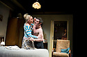 Ecstasy, written and diected by Mike Leigh. With Daniel Coonan as Roy, Claire-Louise Cordwell as Val, Sinead Matthews as Dawn. Opens at The Hampstead  Theatre  on 15/3/11 . CREDIT Geraint Lewis