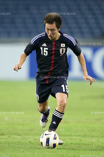 Manabu Saito (JPN),.FEBRUARY 22, 2012 - Football / Soccer :.2012 London Olympics Asian Qualifiers Final Round Group C match between U-23 Malaysia 0-4 U-23 Japan at National Stadium Bukit Jalil in Kuala Lumpur, Malaysia. (Photo by AFLO)