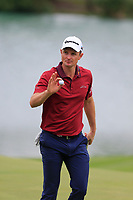Justin Rose (ENG) on the 2nd green during the 1st round at the WGC HSBC Champions 2018, Sheshan Golf Club, Shanghai, China. 25/10/2018.<br /> Picture Fran Caffrey / Golffile.ie<br /> <br /> All photo usage must carry mandatory copyright credit (&copy; Golffile | Fran Caffrey)