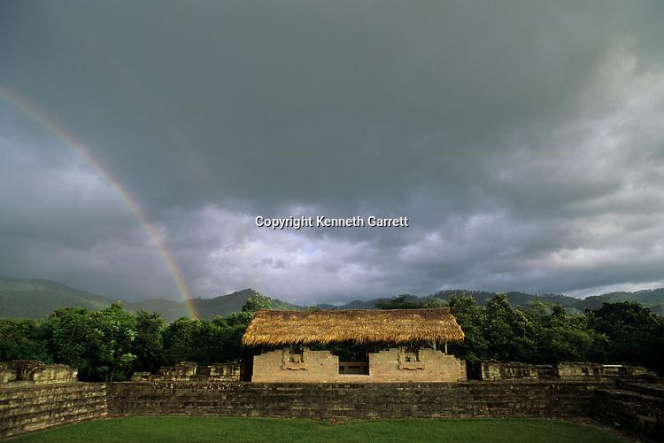 Scribes House,Residential area, Sepulturas, Maya; Copan; Maya City of Copan; Honduras