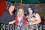On Friday evening the Tralee Resource Centre held a fund raising Bar -B-Que  at Roundy's Bar, Tralee. L-r: Helen Fitzgerald, Miriam Owens and Bernie Moore (TRC)..