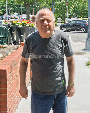 Jeffrey N. Gildenhorn, owner of the American City Diner, 5532 Connecticut Ave, NW; in Washington, DC on Tuesday, August 11, 2015.<br /> Credit: Ron Sachs / CNP/MediaPunch<br /> (RESTRICTION: NO New York or New Jersey Newspapers or newspapers within a 75 mile radius of New York City)