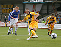 Chris Holroyd of Cambridge United scores the third goal from the penalty spot during the Blue Square Premier match between Cambridge United and Gateshead at the Abbey Stadium, Cambridge on 29th August, 2009..© Kevin Coleman 2009 ....
