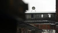 Spinnerei - alte Baumwollspinnerei in Plagwitz / Leipzigs Kunstzentrum / Künstler haben hier ihre Ateliers und zahlreiche Galerien sind in den betagten Gebäuden angesiedelt - im Bild: Ansicht bei Regenwetter.  Foto: aif / Norman Rembarz..Jegliche kommerzielle wie redaktionelle Nutzung ist honorar- und mehrwertsteuerpflichtig! Persönlichkeitsrechte sind zu wahren. Es wird keine Haftung übernommen bei Verletzung von Rechten Dritter. Autoren-Nennung gem. §13 UrhGes. wird verlangt. Weitergabe an Dritte nur nach  vorheriger Absprache. Online-Nutzung ist separat kostenpflichtig..