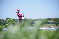 Aditi Ashok (IND) watches her tee shot on 2 during round 1 of  the Volunteers of America LPGA Texas Classic, at the Old American Golf Club in The Colony, Texas, USA. 5/5/2018.<br /> Picture: Golffile | Ken Murray<br /> <br /> <br /> All photo usage must carry mandatory copyright credit (&copy; Golffile | Ken Murray)