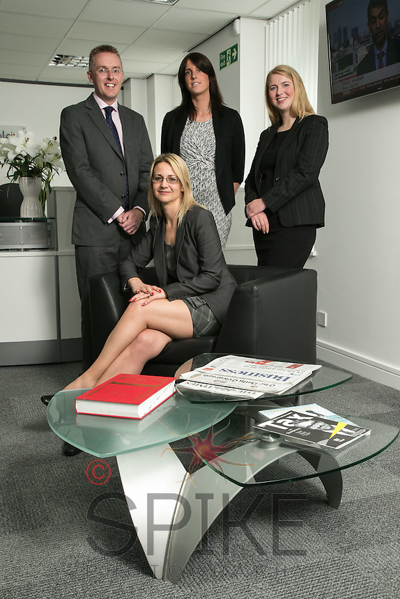 Pictured seated is Su Garner, with from left, Scott McKittrick, Jenny Colver and Melissa Chantrill