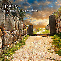 Pictures of Tiryns Archaeological Site, Greece. Mycenaean Photos and Images
