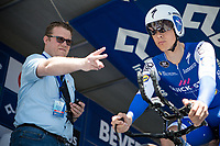 Countdown with Niki Terpstra (NED/Quick Step Floors)<br /> <br /> Baloise Belgium Tour 2017<br /> Stage 3: ITT Beveren - Beveren (13.4km)