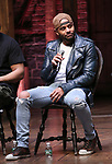 "Terrance Spencer during The Rockefeller Foundation and The Gilder Lehrman Institute of American History sponsored High School student #eduHam matinee performance of ""Hamilton"" Q & A at the Richard Rodgers Theatre on November 28, 2018 in New York City."