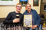 At the launch of the Spa/Fenit Hospice Calendar 2016 'Nostalgic Memories'. in Aid of the Palliative Care Unit KGH and the Irish Cancer Society at the West End, Fenit on Sunday were  l-r Chris Steiner and Franz Leupi.