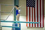 BIRMINGHAM, AL - MARCH 11: Monica Amaral of West Florida prepares to dive during the Division II Men's and Women's Swimming & Diving Championship held at the Birmingham CrossPlex on March 11, 2017 in Birmingham, Alabama. Amara won the event with a score of 505.20. (Photo by Matt Marriott/NCAA Photos via Getty Images)
