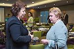 "BRUSSELS - BELGIUM - 23 November 2016 -- European Training Foundation (ETF) Conference on ""GETTING ORGANISED FOR BETTER QUALIFICATIONS"". -- Madlen Serban, Director ETF with Director Olga Oleynikova, Center for VET Studies (Russian Federation). -- PHOTO: Juha ROININEN / EUP-IMAGES"