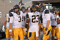 TEMPE, AZ - September 24, 2016: Cal Bears Football team vs. the Arizona State University Sun Devils at Sun Devil Stadium. Final score, Cal Bears 41, Arizona State University Sun Devils 51.