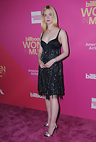 30 November  2017 - Hollywood, California - Elle Fanning. Billboard Women in Music 2017 held at The Ray Dolby Ballroom. Photo Credit: Birdie Thompson/AdMedia