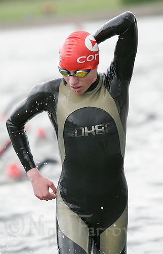 27 MAY 2007 - MOTHERWELL, UK - Kirsty McWilliam - Corus Elite Triathlon Series Rd 1. (PHOTO (C) NIGEL FARROW)