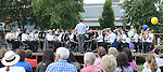 Ardee brass band playing at the Ardee Turfman festival. Photo:Colin Bell/pressphotos.ie