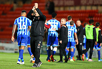 Blackpool manager Simon Grayson applauds the fans after the match <br /> <br /> Photographer Alex Dodd/CameraSport<br /> <br /> The EFL Sky Bet League One - Doncaster Rovers v Blackpool - Tuesday September 17th 2019 - Keepmoat Stadium - Doncaster<br /> <br /> World Copyright © 2019 CameraSport. All rights reserved. 43 Linden Ave. Countesthorpe. Leicester. England. LE8 5PG - Tel: +44 (0) 116 277 4147 - admin@camerasport.com - www.camerasport.com