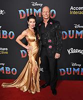 "11 March 2019 - Hollywood, California - Mercy Malickm, Joseph Gatt. ""Dumbo"" Los Angeles Premiere held at Ray Dolby Ballroom. Photo Credit: Birdie Thompson/AdMedia"
