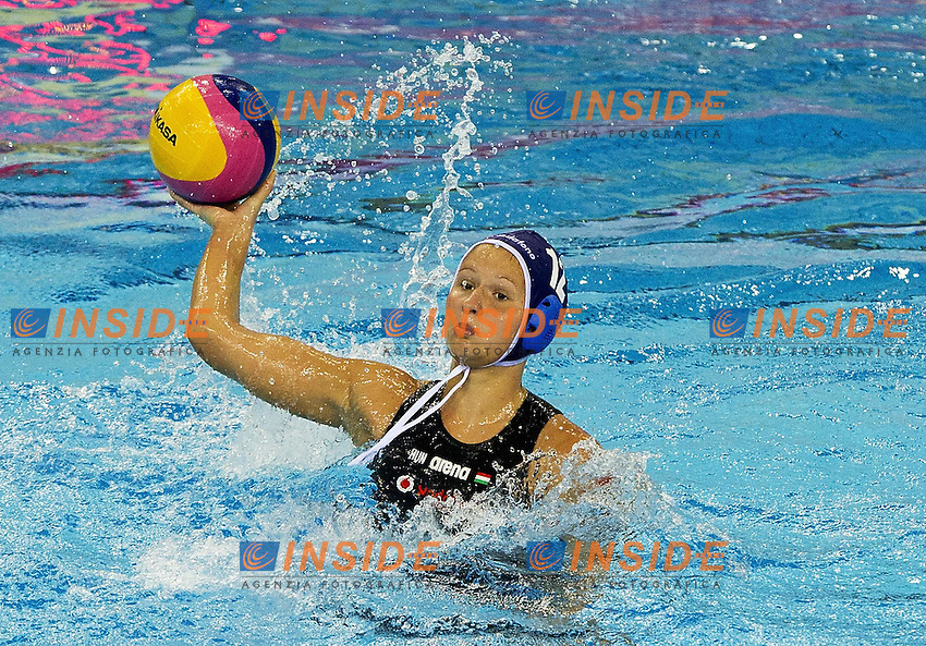Shanghai , China (CHN) 16-31 July 2001.XIV FINA Swimming World Championships.day 02.Women's Water Polo.Kazakistan Vs Hungary..MENCZINGermany Vs Hungary .Photo Insidefoto / Giorgio Scala