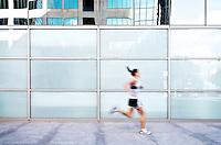 Dana Imparatore urban running series, Midtown San Diego.