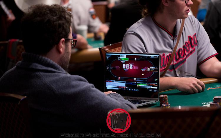 Anthony Zinno playing on WSOP.com