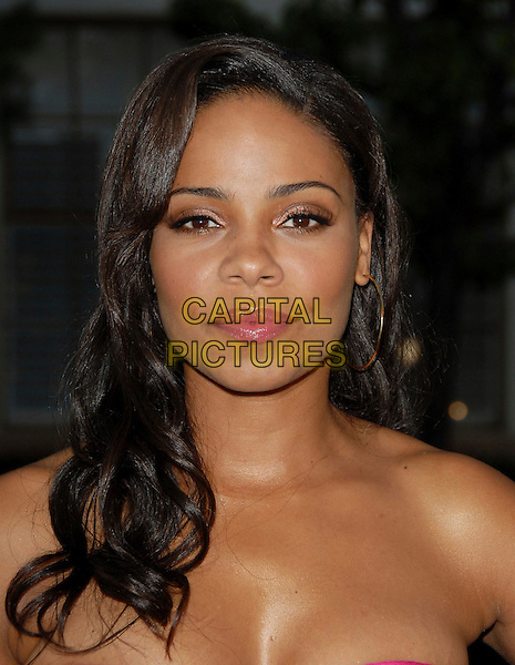 SANAA LATHAN.The FX Season 4 Premiere Screening of Nip/Tuck held at The Paramount Studios in Hollywood, California, USA..August 25th, 2006.Ref: DVS.Nip Tuck headshot portrait.www.capitalpictures.com.sales@capitalpictures.com.©Debbie VanStory/Capital Pictures