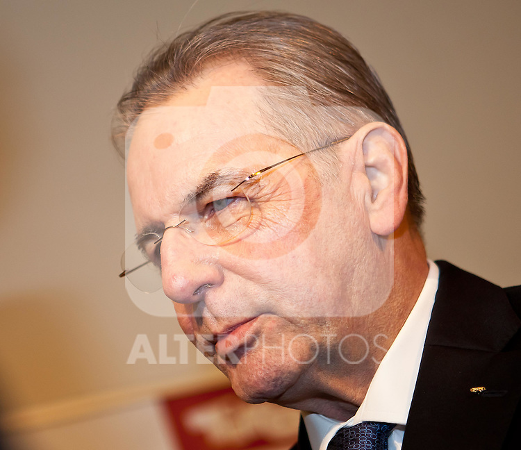 14.01.2012, Hofburg, Innsbruck, AUT, Gala für Tirol, im Bild IOC Präsident Jacques Rogge //  IOC President Jacques Rogge during the Gala Night for Tyrol at the Hofburg in Innsbruck, Austria on 2012/01/14. EXPA Pictures © 2012, PhotoCredit: EXPA/ Markus Casna