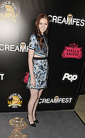 HOLLYWOOD,CA - OCTOBER 18: Lydia Hearst attends the TRASH FIRE / Screamfest red carpet at TCL Chinese Theater in Hollywood, California on October 18, 2016. Credit: Koi Sojer/Snap'N U Photos /MediaPunch