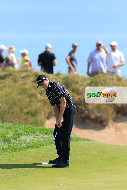 Jimmy WALKER (USA) putts on the 6th green during Friday's Round 2 of the 97th US PGA Championship 2015 held at Whistling Straits, Mosel, Kohler, Wisconsin, United States of America. 14/08/2015.<br /> Picture Eoin Clarke, www.golffile.ie