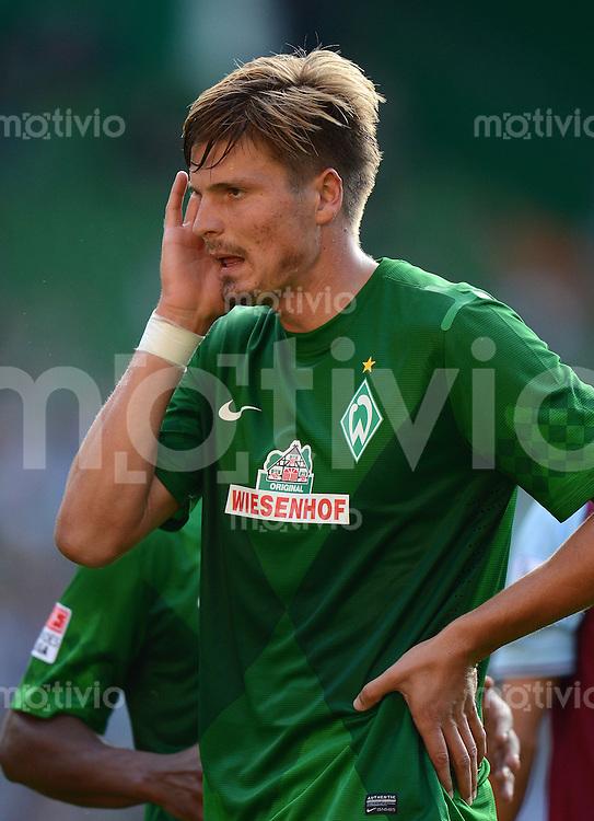 FUSSBALL   1. BUNDESLIGA   SAISON 2012/2013   TESTSPIEL SV Werder Bremen - Aston Villa                             11.08.2012 Sebastian Proedl (SV Werder Bremen)