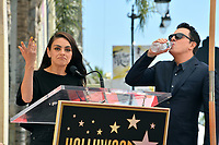 LOS ANGELES, USA. April 23, 2019: Seth MacFarlane & Mila Kunis at the Hollywood Walk of Fame Star Ceremony honoring actor, animator and comedian Seth MacFarlane.<br /> Picture: Paul Smith/Featureflash