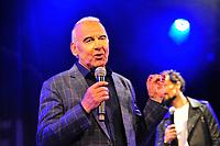 Michel Fugain showcase presentation de l'album en hommage à Michel Fugain chante la vie chante, 2017/05/10, Divan du Monde - Paris, credit : Edouard Setton /  DALLE