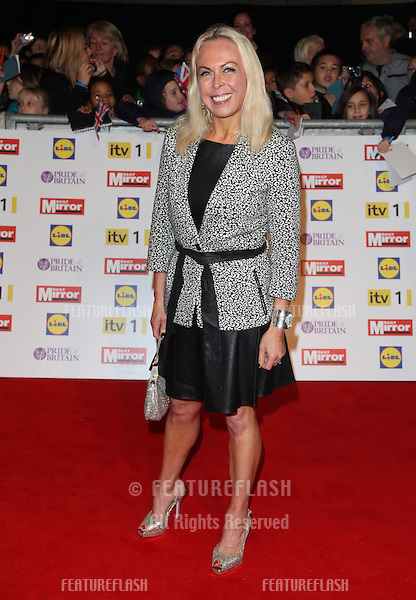 Jayne Torvill arriving for the 2012 Pride of Britain Awards, at the Grosvenor House Hotel, London. 29/10/2012 Picture by: Alexandra Glen / Featureflash
