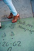 Hollywood Grauman's Hand/Footprint Sidewalk Impressions