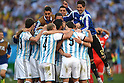 Argentina team group (ARG),<br /> JULY 1, 2014 - Football / Soccer : FIFA World Cup Brazil 2014 Round of 16 match between Argentina 1-0 Switzerland at Arena de Sao Paulo in Sao Paulo, Brazil.<br /> (Photo by FAR EAST PRESS/AFLO)