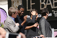Martin Short, Chris Rock, Ben Stiller and David Schwimmer attending the Madagaskar III photocall at Carlton hotel during Cannes International Film Festival in Cannes, France, 17.05.2012..Credit: Timm/face to face /MediaPunch Inc. ***FOR USA ONLY***