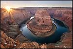 Horseshoe Bend, Sunset<br /> Glen Canyon National Recreation Area, Arizona