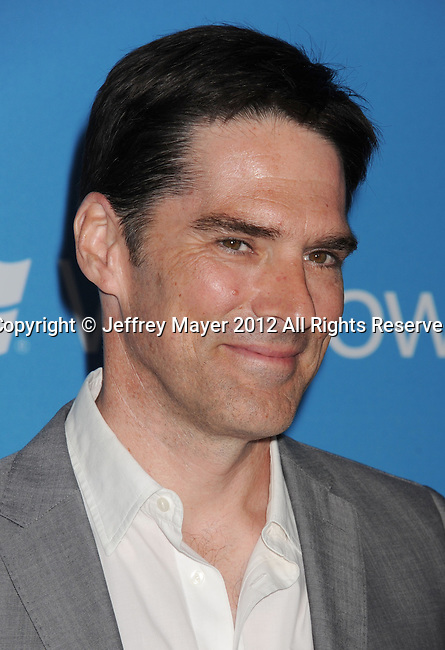 WEST HOLLYWOOD, CA - SEPTEMBER 18: Thomas Gibson  arrives at the CBS 2012 fall premiere party at Greystone Manor Supperclub on September 18, 2012 in West Hollywood, California.